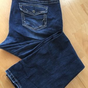 Maurice's flap pocket jeans